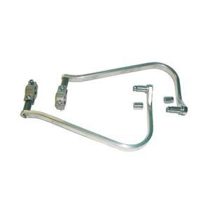 "Barkbusters Aluminum Handguard Kit For 7/8"" Handlebars 7/8"" Bars / Silver [Previously Installed]"