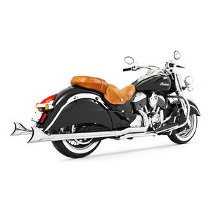 Freedom Performance True Dual Sharktail Exhaust For Indian Chief  2014-2018 Chrome [Blemished - Very Good]
