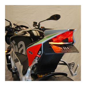 R/&G Racing Radiator Guard for the Aprilia Tuono V4 1100 2015-2018 RAD0192BK