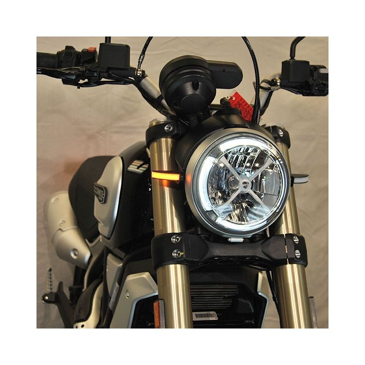 New Rage Cycles LED Front Turn Signals Ducati Scrambler 1100 2018-2019