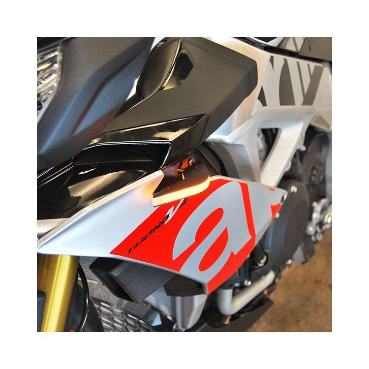 New Rage Cycles LED Front Turn Signals Aprilia Tuono V4 1100
