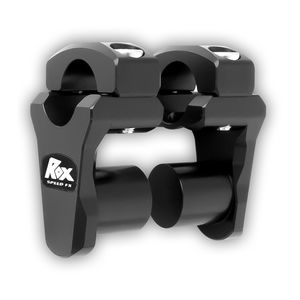 """Rox Low Pro 1 3/4"""" Pivot Risers Black Anodized [Previously Installed]"""