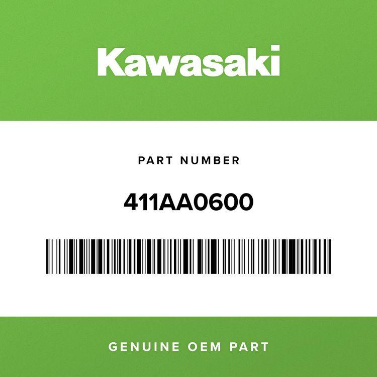 Kawasaki WASHER-PLAIN, 6MM 411AA0600