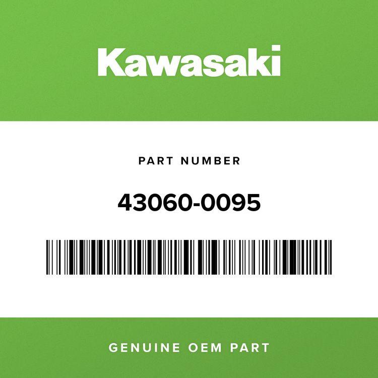 Kawasaki PIPE-BRAKE, RR M/CYLINDER-HU 43060-0095