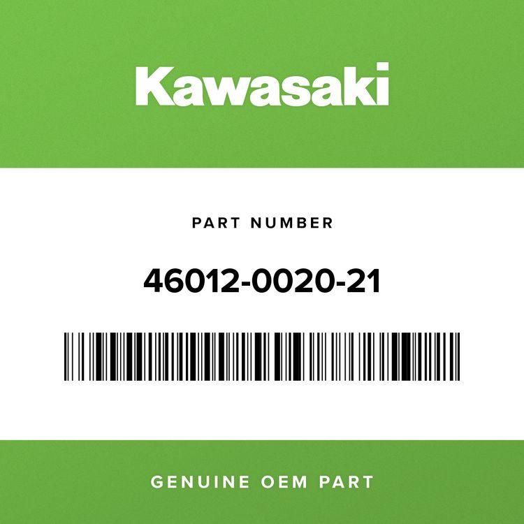 Kawasaki HOLDER-HANDLE, UPP, FAT BAR, BLK 46012-0020-21