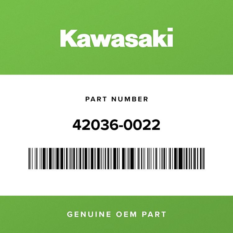 Kawasaki SLEEVE, SUSPENSION ARM, L=37 42036-0022