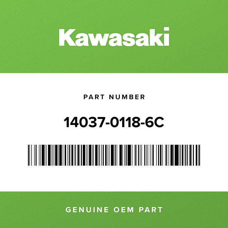 Kawasaki SCREEN, RH, EBONY 14037-0118-6C