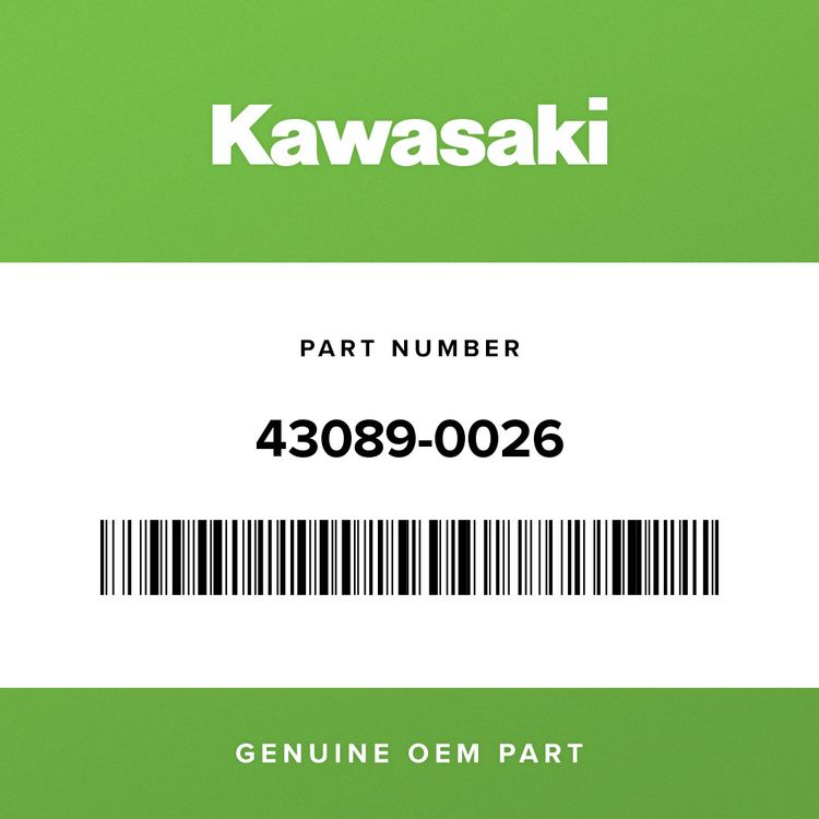 Kawasaki CYLINDER-SHOCKABSORBER 43089-0026