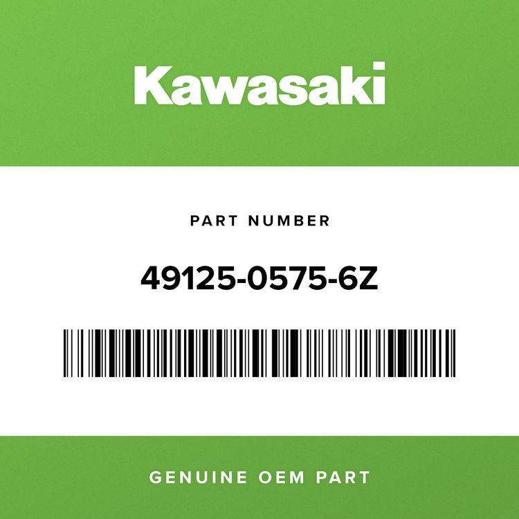 Kawasaki SHROUD, LH, SLAT, F.BLACK 49125-0575-6Z