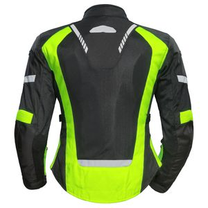 Hi Vis//Yellow//Black New Tourmaster Intake Air-4.0 Womens Mesh Jacket Small//SM