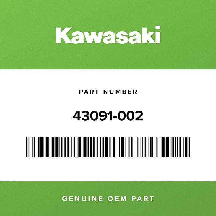 Kawasaki RUBBER, BRAKE PEDAL 43091-002