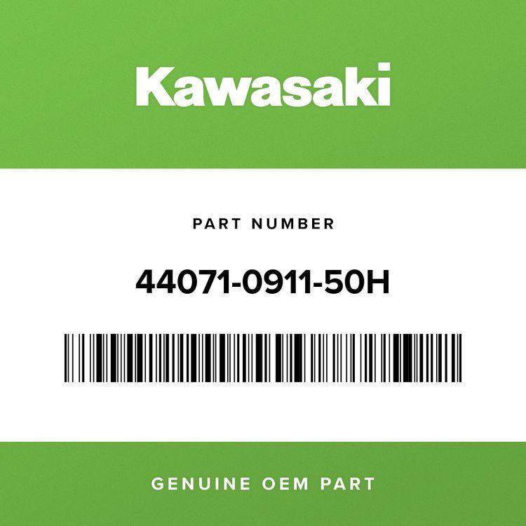 Kawasaki DAMPER-ASSY, RH, BLACK+GREEN 44071-0911-50H
