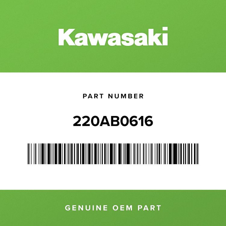 Kawasaki SCREW-PAN-CROS, 6X12 220AB0616