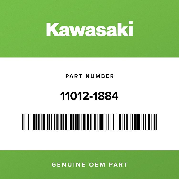 Kawasaki CAP, BEARING 11012-1884