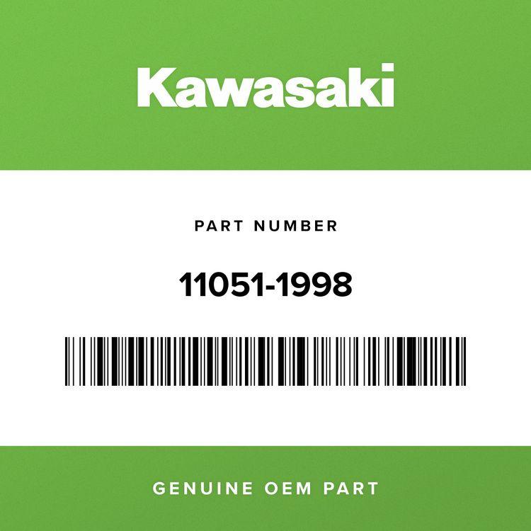 Kawasaki BRACKET, LICENSE HOLDER 11051-1998