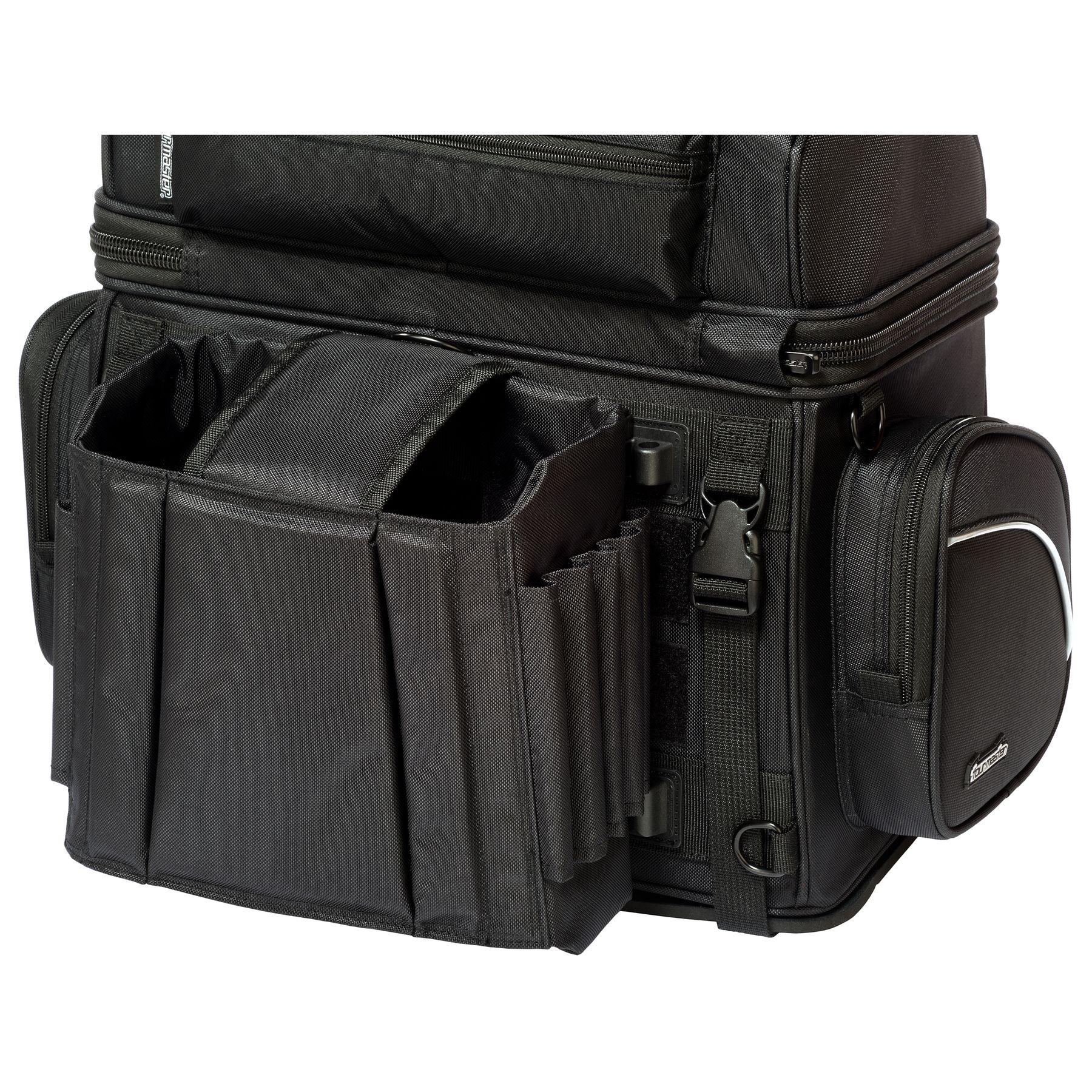 Black//Medium Tour Master NC 4 Nylon Sissybar Street Motorcycle Tail Bags