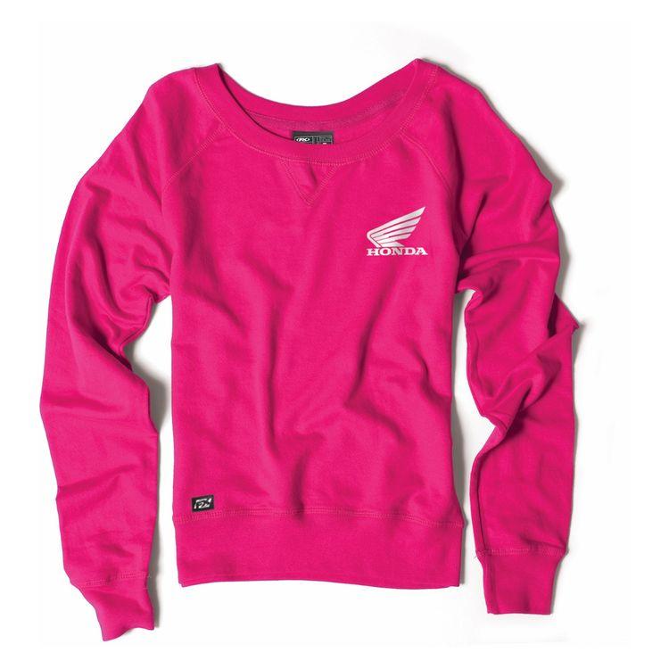 b999351b4eee1 Factory Effex Honda Women s Crew Sweatshirt - RevZilla