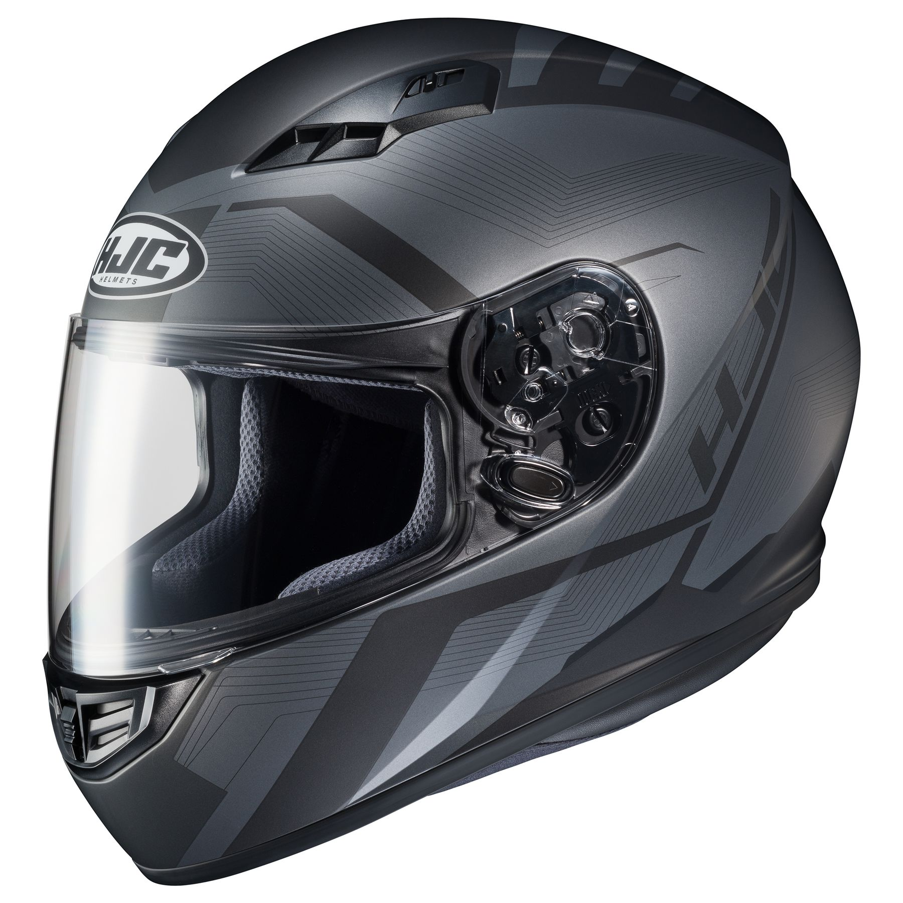 Satin Finish Red HJC CS-R3 Dosta Full-Face Street Motorcycle Helmet