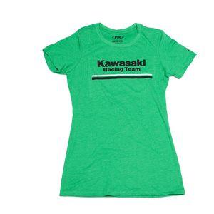 Factory Effex Kawasaki Stripes Women's T-Shirt