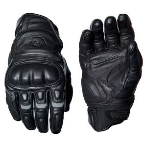 REAX Castor Leather Gloves Black / MD [Demo - Good]