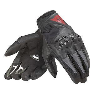 Dainese MIG C2 Gloves Black/Black/Black / MD [Demo - Good]
