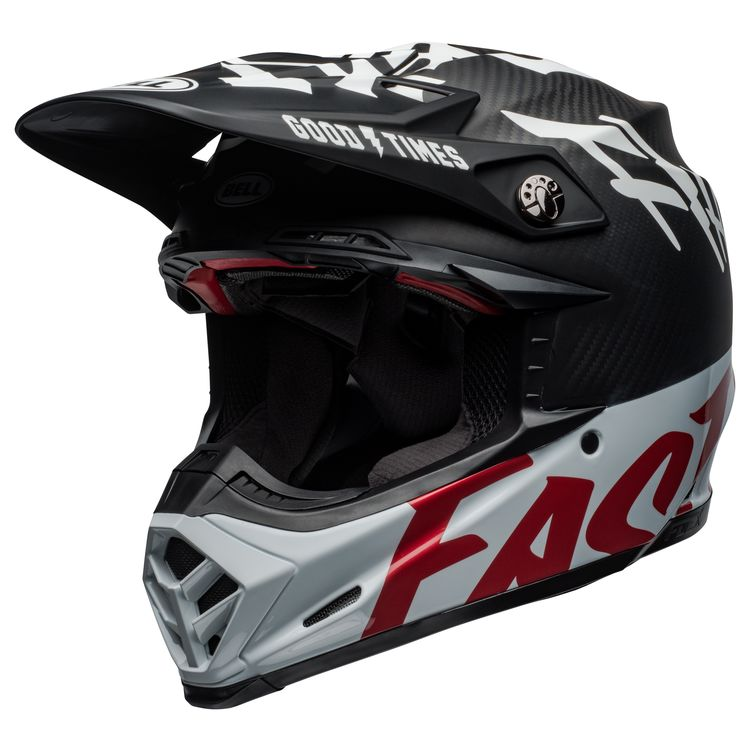 super specials purchase cheap lower price with Bell Moto-9 Carbon Flex Fasthouse WRWF Helmet