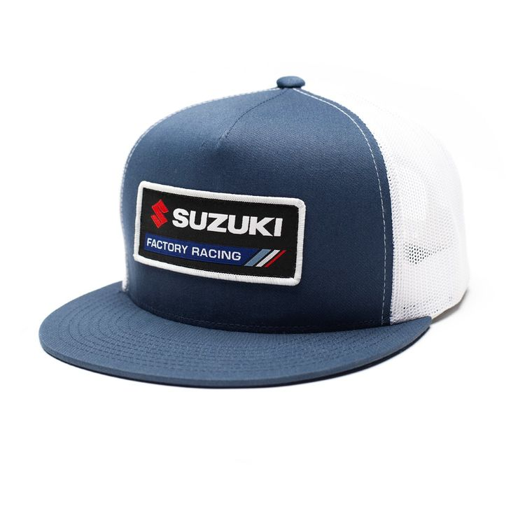 0bd796c8d45 Factory Effex Suzuki Factory Snapback Hat - RevZilla