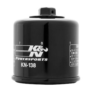 K&N Oil Filter KN-138 Black [Previously Installed]