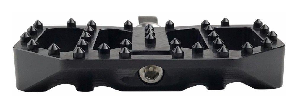 Brass Balls Cycles Mini Moto Floor Boards Black