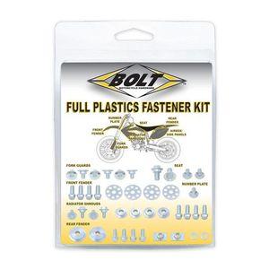 Bolt Hardware Full Plastics Fastener Kit Kawasaki / Suzuki 125cc-450cc 2003-2016