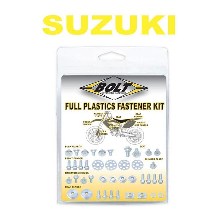 Bolt Hardware Full Plastics Fastener Kit Suzuki RMZ 450 2005-2007