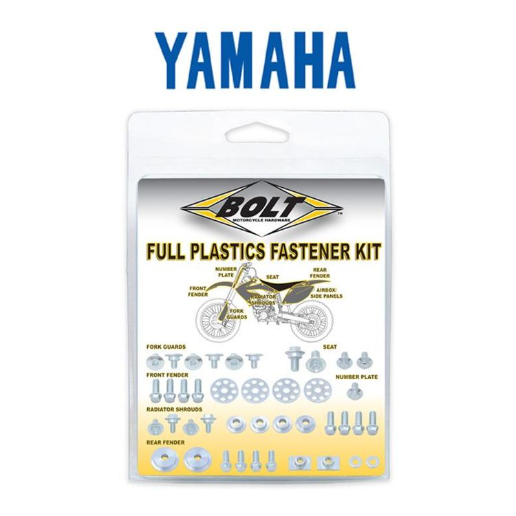 Bolt Hardware Full Plastics Fastener Kit Yamaha YZ85 2002-2018