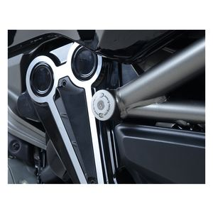 R/&G Black Motorcycle Frame Plug For Suzuki 2010 GSX-R1000 LO