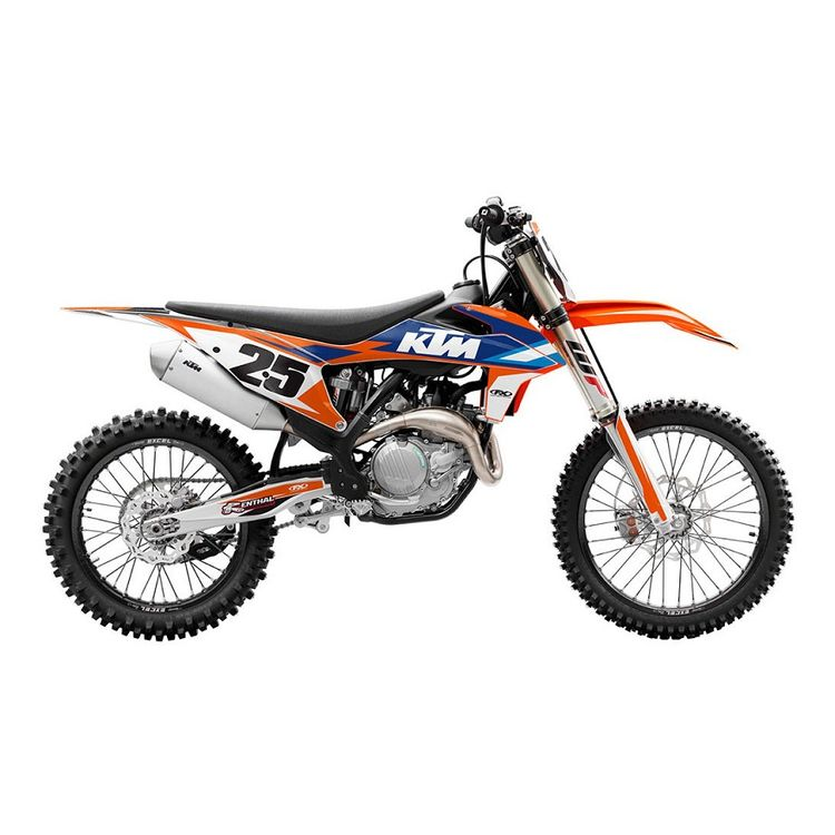 Factory Effex EVO 16 Shroud / Airbox Graphics Kit KTM 65 SX 2002-2008