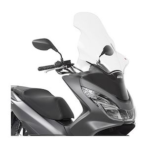 Givi D1130ST Windscreen Honda PCX150 2014-2018 Clear / D1130ST Tall [Previously Installed]