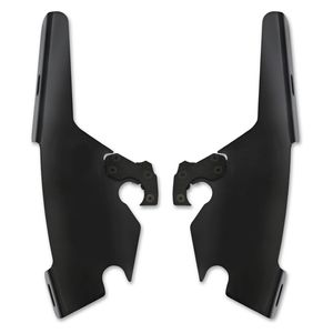 Memphis Shades Sportshield / Fats / Slim to Batwing Plates-Only Mount Kit For Harley FLSB 2018-2019