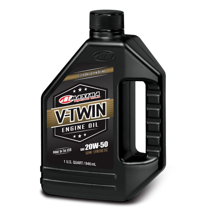 Maxima V-Twin Synthetic Blend Engine Oil
