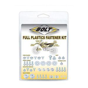 Bolt Hardware Full Plastics Fastener Kit