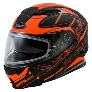 GMax MD01S Wired Snow Helmet - Dual Lens