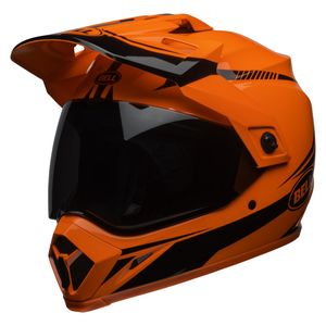 Bell MX-9 Adventure MIPS Torch Helmet Hi-Viz Orange/Black