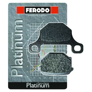 Ferodo FDB207P Platinum Rear Brake Pads