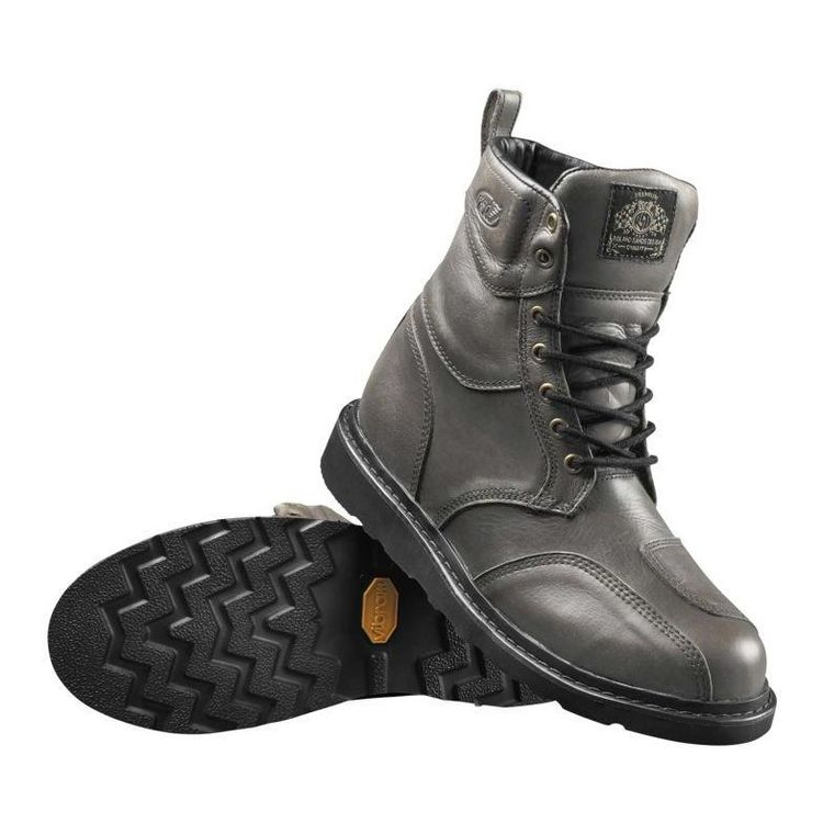 Roland Sands Mojave Boots Whiskey and Grey (11)