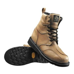 Roland Sands Mojave Boots Whiskey and Grey