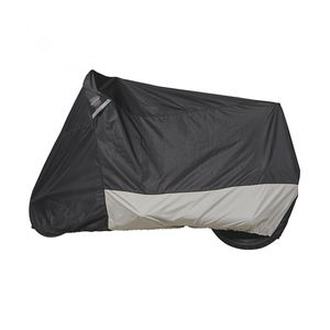 Dowco Guardian Weatherall Plus Motorcycle Cover Black/Silver / MD [Previously Installed]