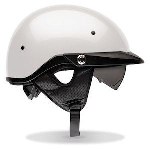 Bell Pit Boss Helmet - Pearl White