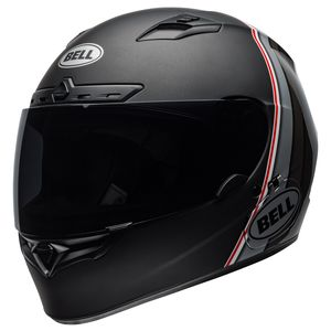 Bell Qualifier DLX MIPS Illusion Helmet Matte Black/Silver/White / MD [Open Box]