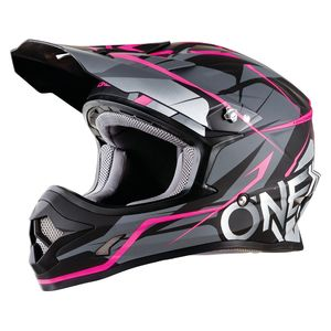 O'Neal 3 Series Freerider Helmet Black/Pink / 2XL [Demo - Good]