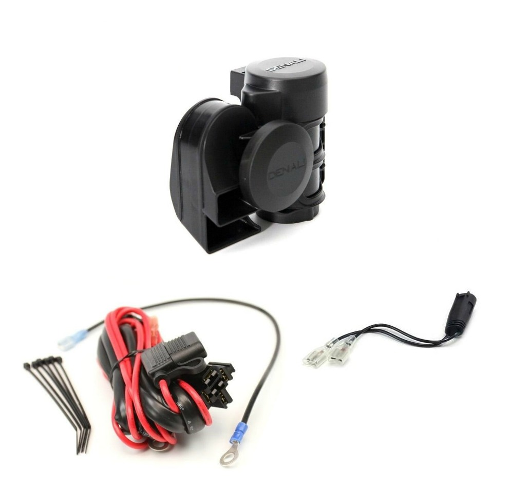 Denali Soundbomb Compact Air Horn And Wiring Kit For Bmw Revzilla