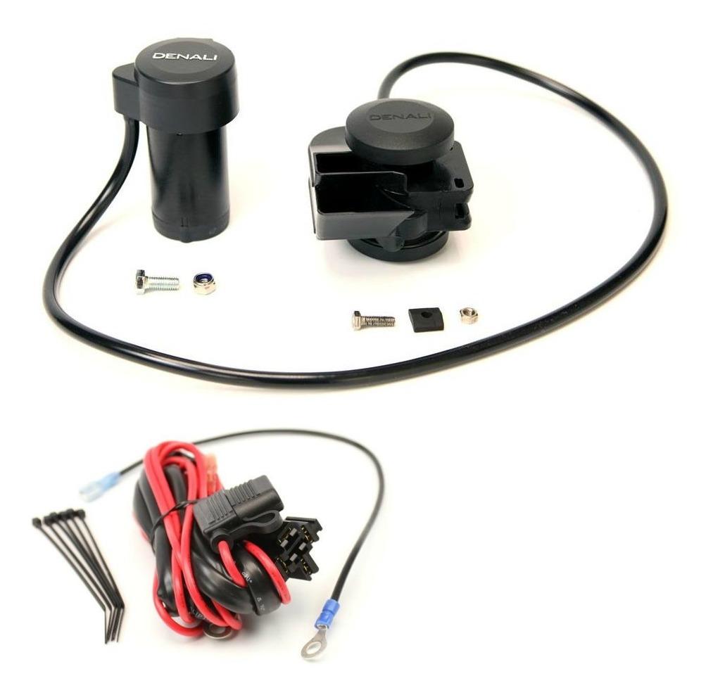 Denali Soundbomb Split Dual Tone Air Horn And Wiring Kit Revzilla Tie Downs Automotive Harness