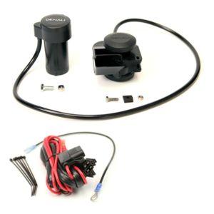 Denali Soundbomb Split Dual-Tone Air Horn And Wiring Kit